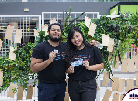 Share The Happiness 2020: A NTUSU Welfare Donation Drive