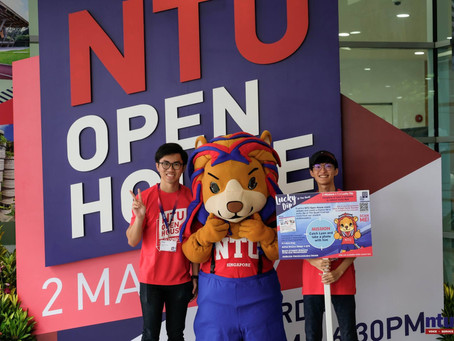 NTU Open House 2019 In Full Swing