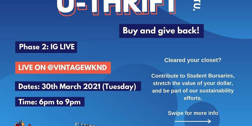 U-Thrift 2021: IG Live on @VINTAGEWKND