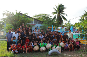 OCIP vietnam playground group photo