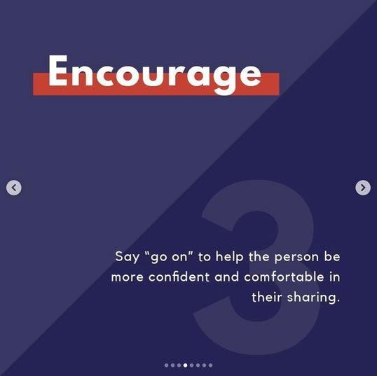 3. Encourage