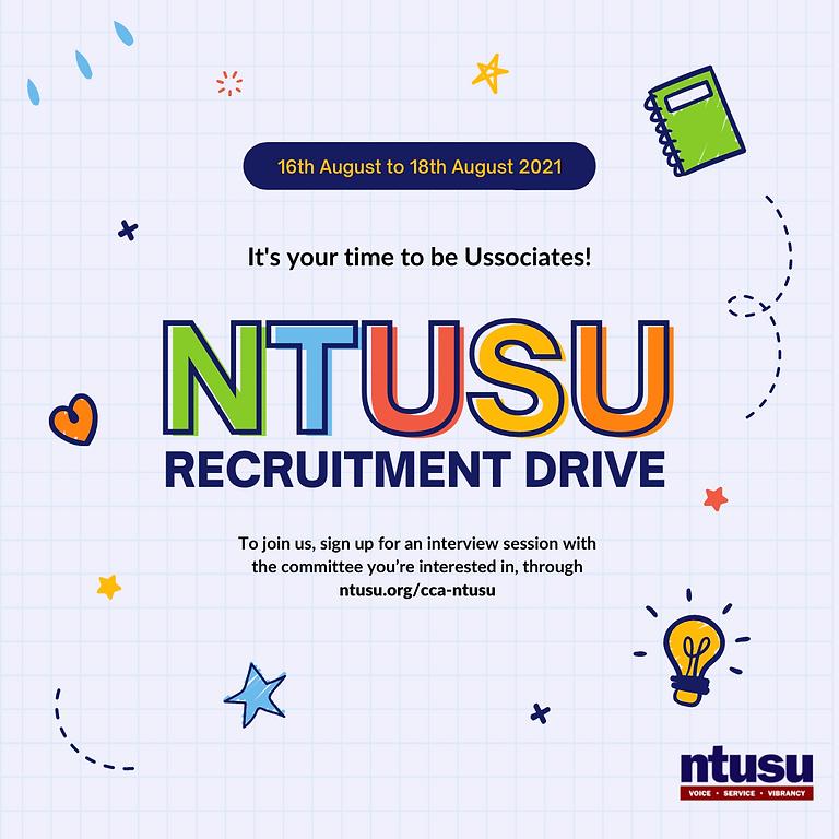 NTUSU Recruitment Drive