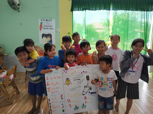 OCIP vietnam science fair children