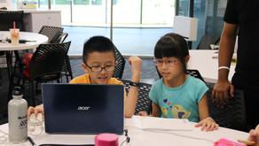 9-year old twins among experienced hackers attending HackNTU