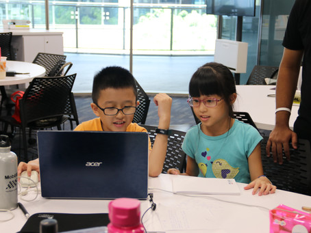 9-year old twins among experienced hackers attending HackNTU