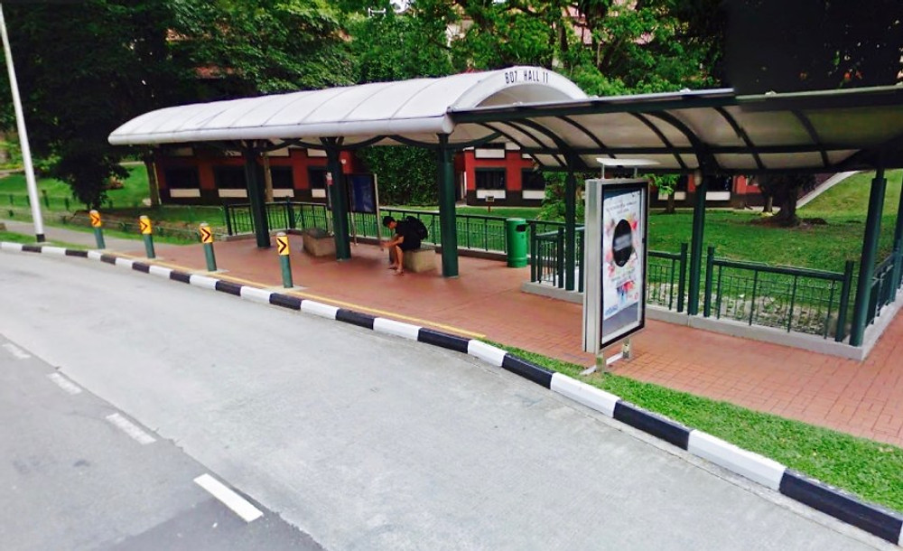 New Red Line Bus Stop