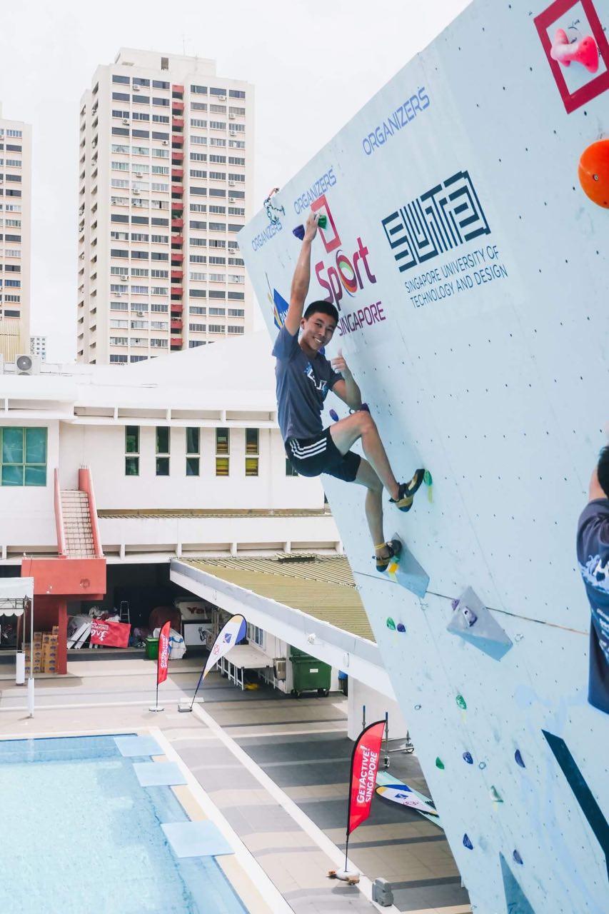 rock climbing captains medicine students