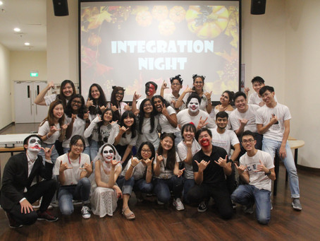 Integration Night 2019: Where Halloween Horror Bridges Cultural Boundaries