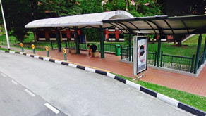 New Red Line Bus Stop at Hall 11