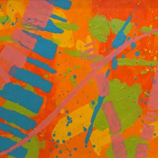 "Colour Timeline - 37"" X 18"" - John Nolan"