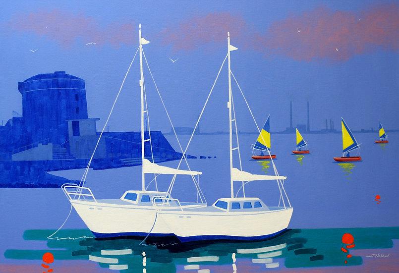 Martello Sails - Giclée Print