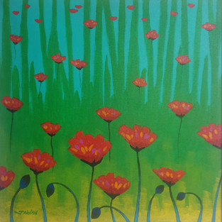 Poppies - John Nolan