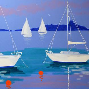Boats at Dalkey