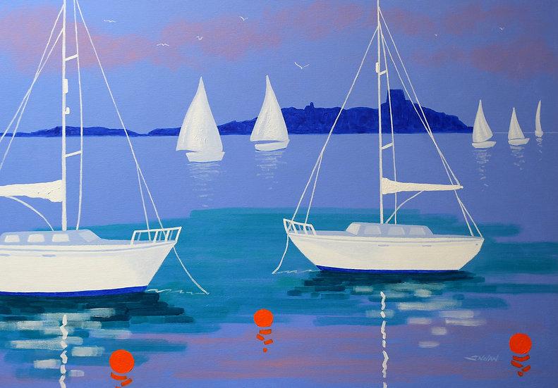 Boats at Dalkey - Giclée Print