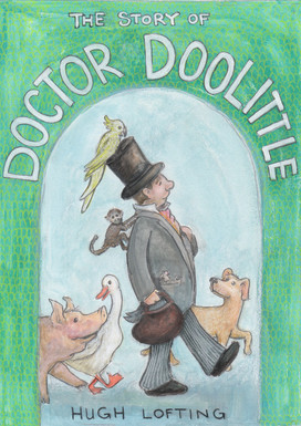 Book Cover Doctor Doolittle