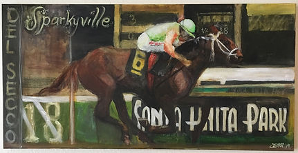 Sparkyville-horse-painting-by-jessica-me