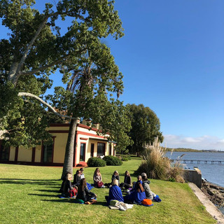 Práctica en Laguna de Chascomús