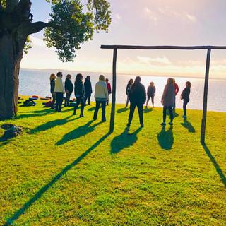 Practicando Mindfulness en la Laguna de Chascomús