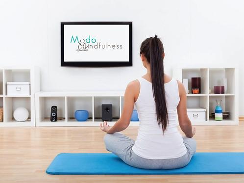 Curso 4 encuentros Mindfulness: Reducción de estrés y ansiedad I