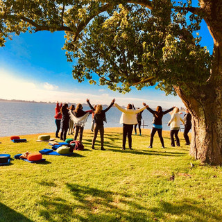 Práctica al aire libre en Fin de semana Mindfulness