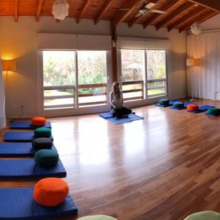 Sala lista Fin de semana Mindfulness Delta de Tigre