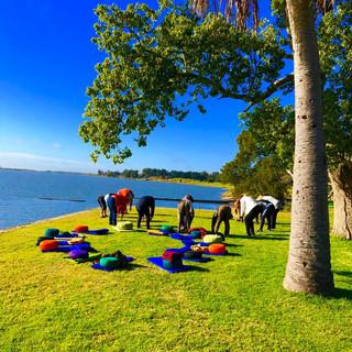 Práctica Fin de semana Mindfulness Laguna de Chascomús