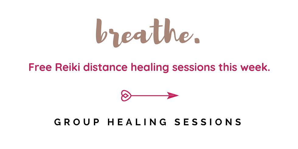Free Reiki Distance Healing Session