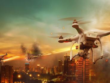 MACHINE GUN DRONES: THIS YEAR'S HOT GIFT!