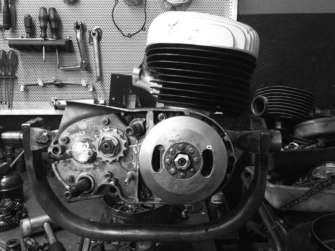 motorcycle machine