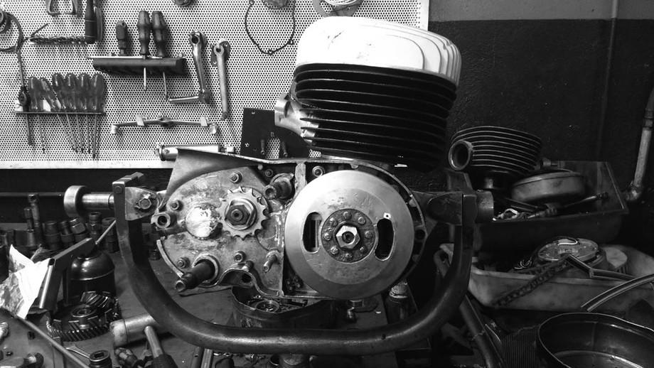 Restauración de motor