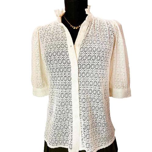 Camisa Bertha lace