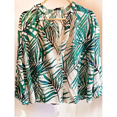 Camisa hojas