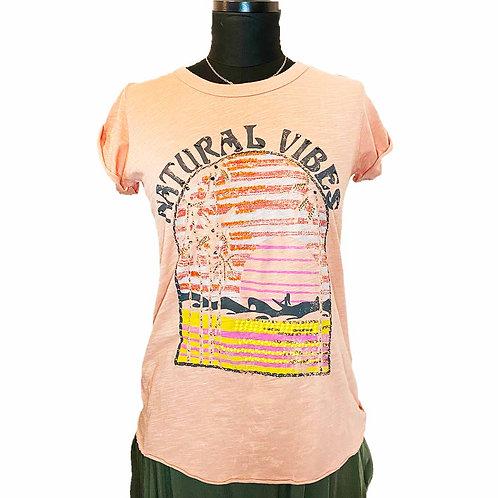 """T-shirt """"Natural vibes"""""""