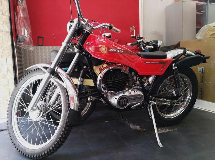 Restauración en Motos Chamorro