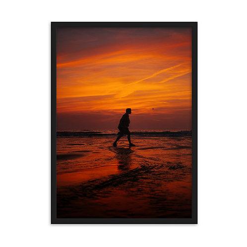 Ostend Belgium - Framed matte paper poster