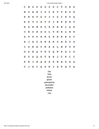 Gastroparesis Word Search