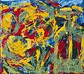 FLOWER IRRIGAATION IV. oil colors on Hem