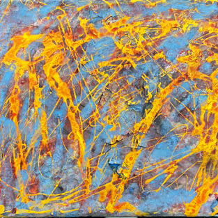 Meeting in the water. 10 x 8 In. Mix. m. $300 US