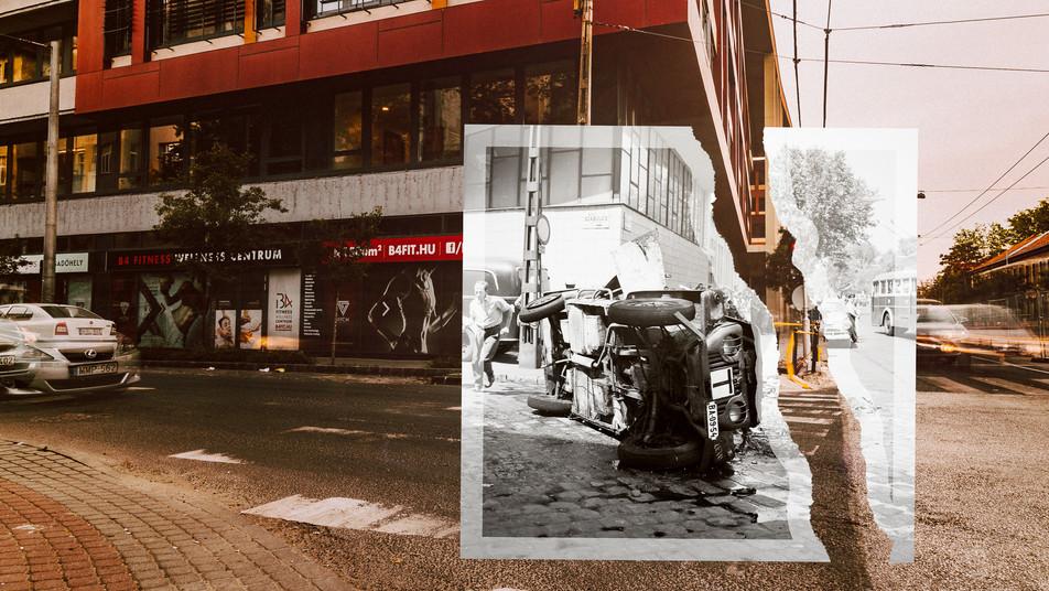 1963, Budapest, Dózsa György út a Szabolcs utca saroktól a Lehel utca felé nézve | fortepan_104447 / Levéltári jelzet: HU.BFL.XV.19.c.10
