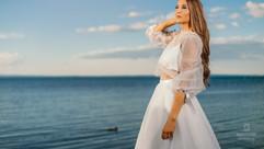 Menyasszony a Balaton parton