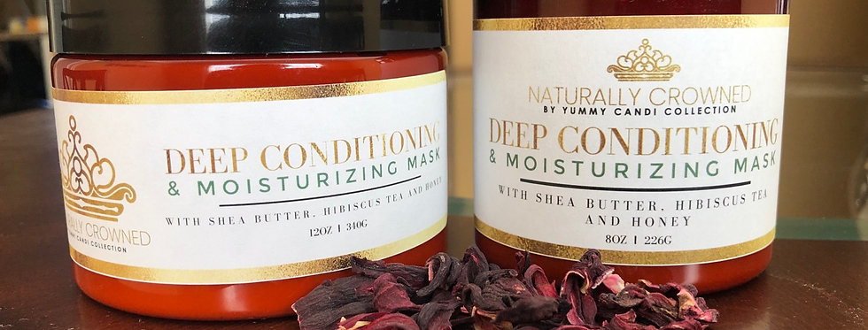 Naturally Crowned Deep Conditioning Mask
