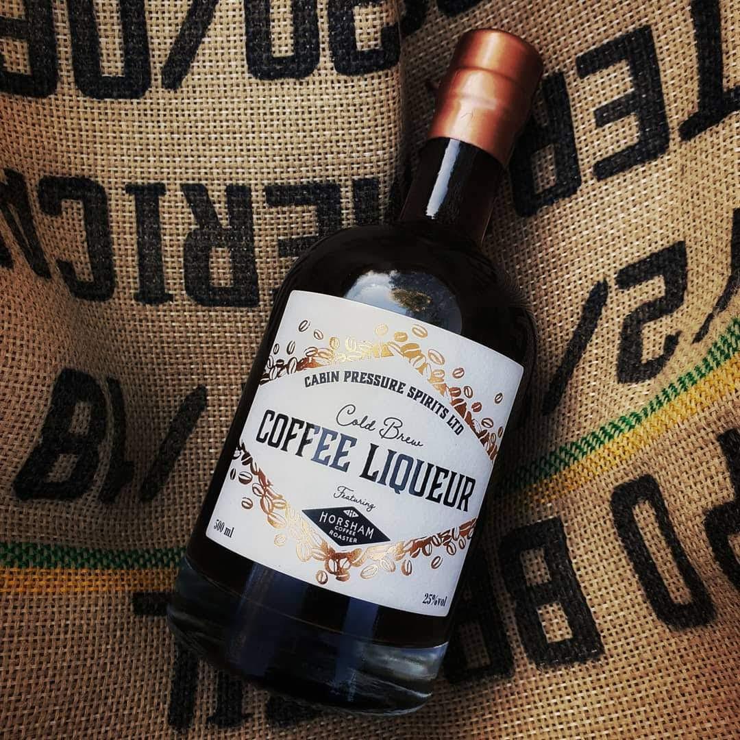 Cold Brew Coffee Liqueur