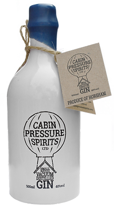 Cabin Pressure Spirits Gin Bottle