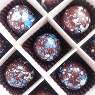 Cabin Pressure Gin chocolates by Chococo