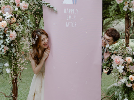 【婚禮紀錄】美濃美綠生態園-戶外草地證婚+午宴