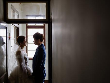 【婚禮紀錄】在阿嬤家的迎娶儀式
