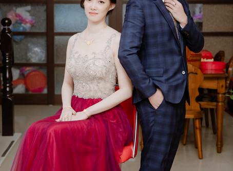 【婚禮紀錄】自宅雙儀式+富霖餐廳華平館午宴