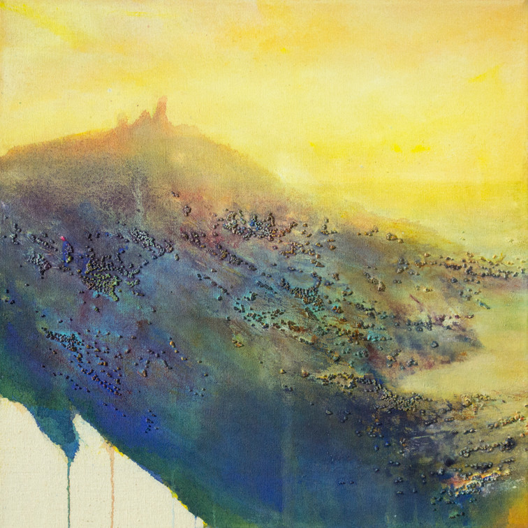 Ruined Castle on the Coast SOLD