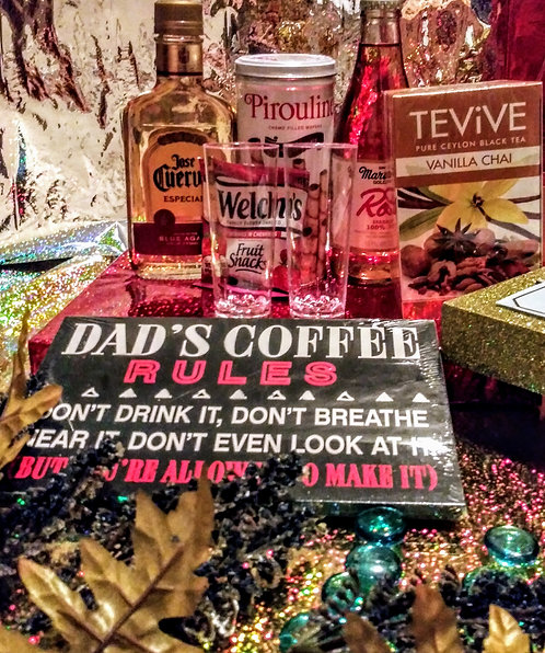 Dads Rules Gift Basket