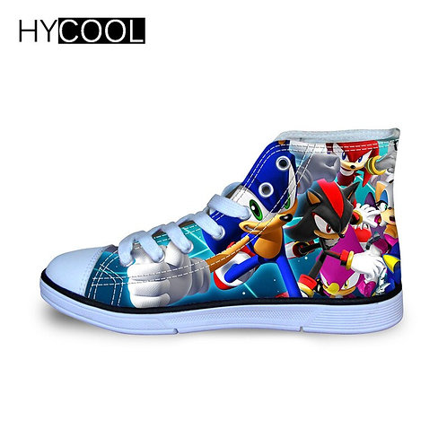 Kids Sonic the Hedgehog Sneakers High Top